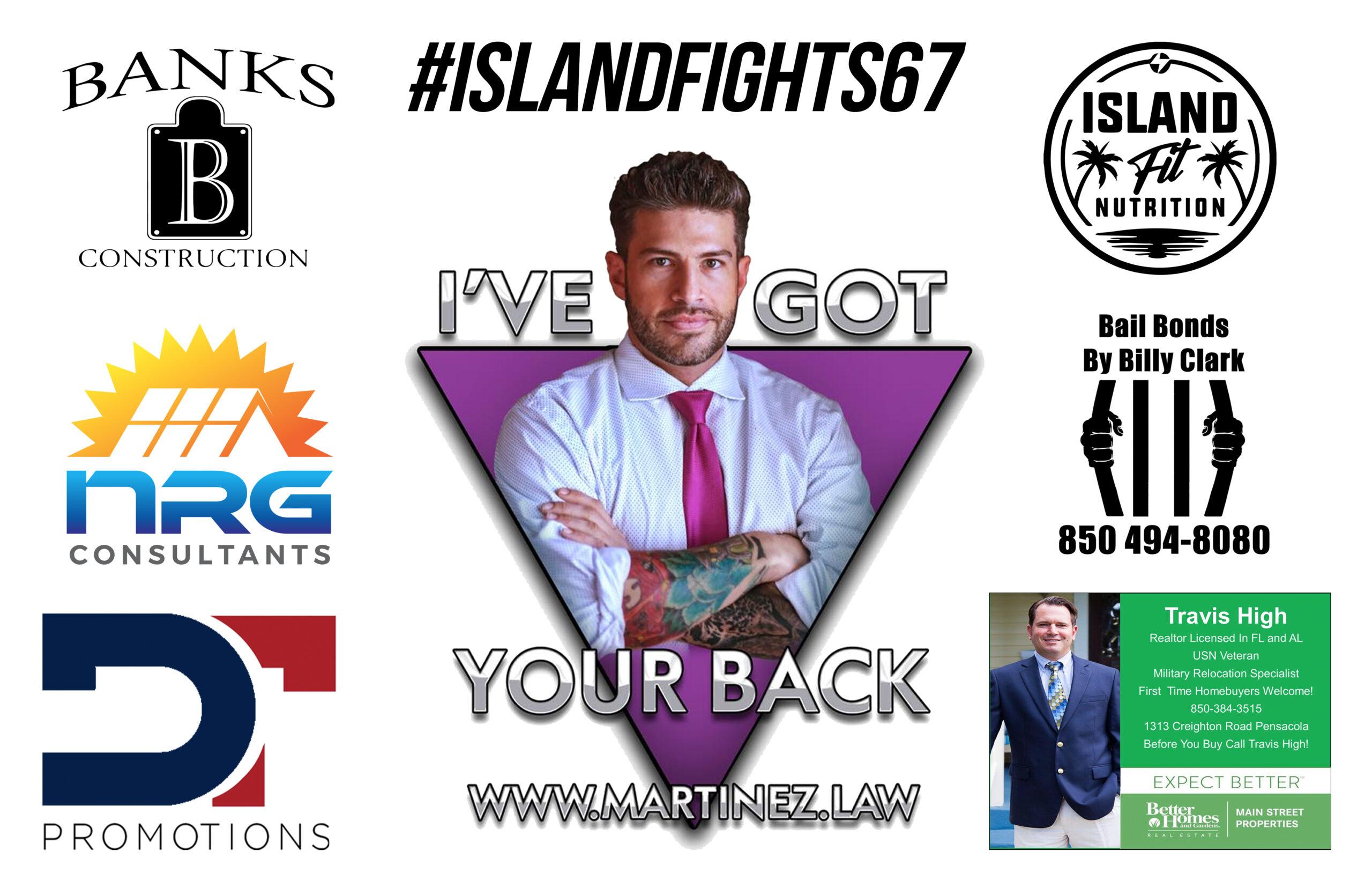 Island Fight Fightcard